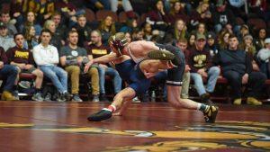 Men's wrestling win streak snapped; women lose to Tiffin