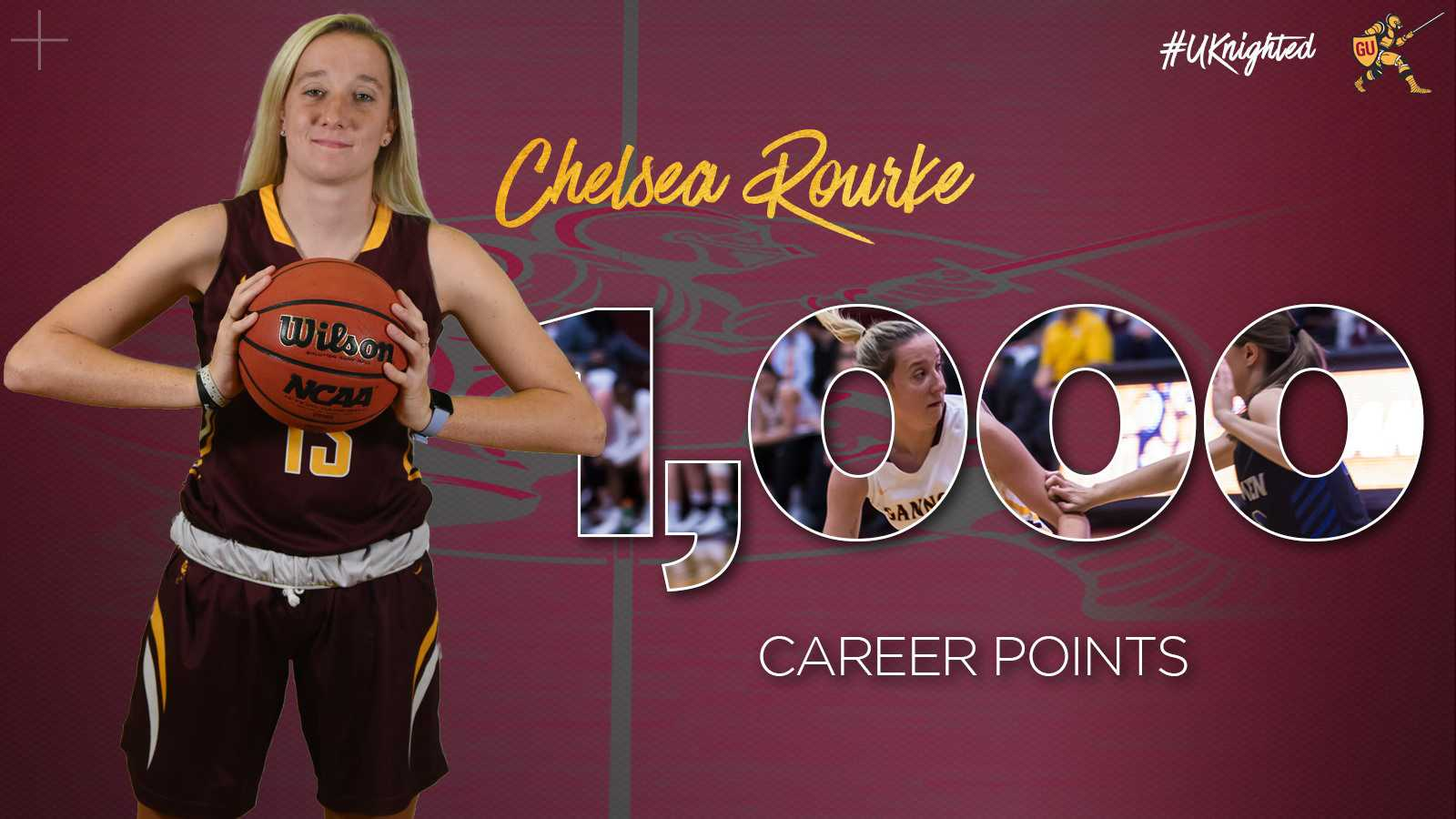 Senior Chelsea Rourke dominates on and off court