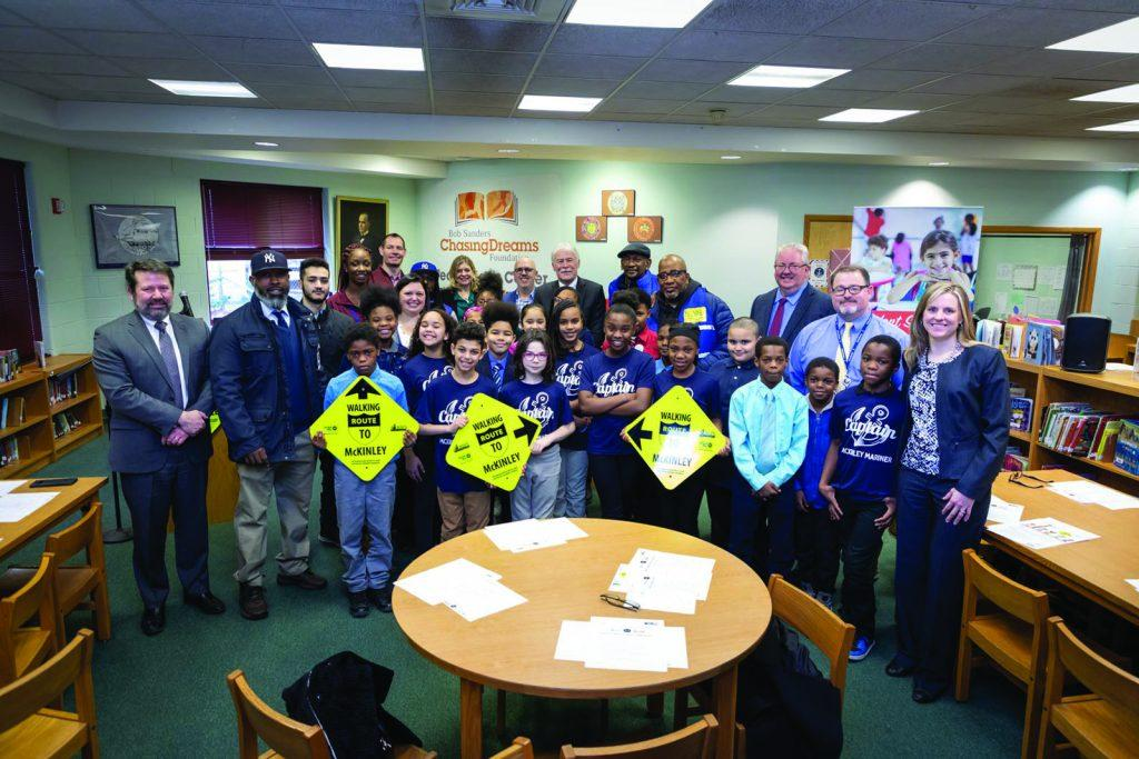 Students plan safer walking routes for kids