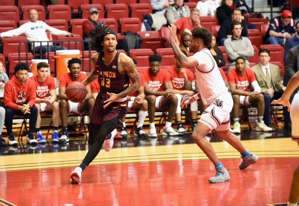 Men's basketball loses to Cal U in first round of PSAC Tournament