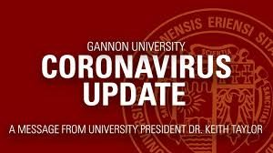 Coronavirus concerns close Gannon