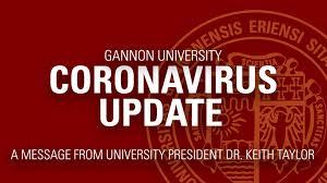 Coronavirus concerns close Gannon