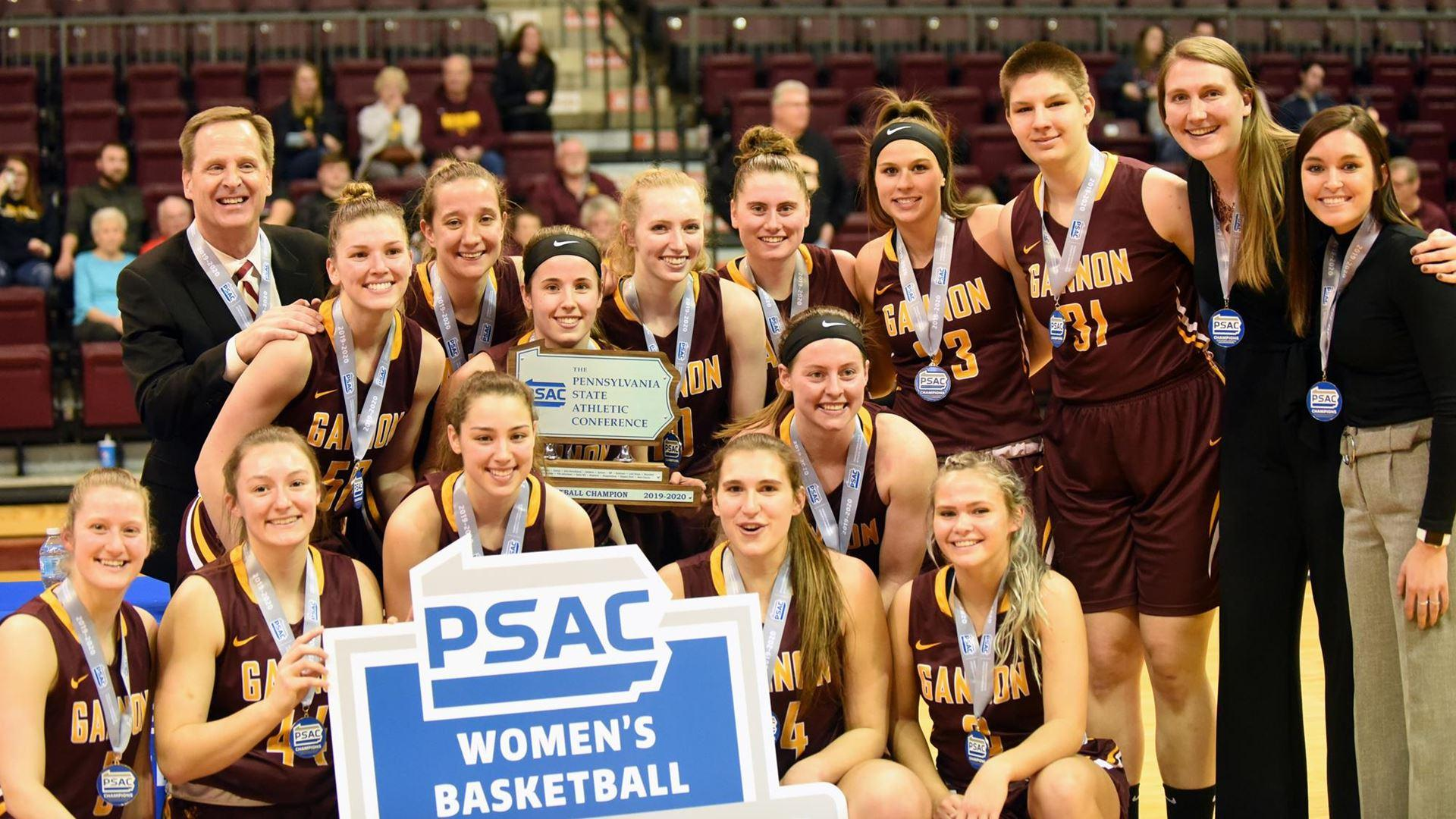 Women win PSAC title, advance to the NCAA Atlantic Regional