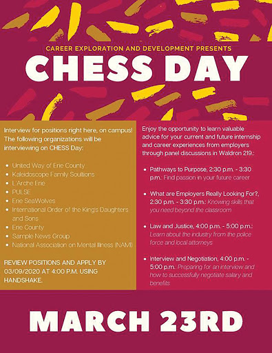 CHESS Day goes virtual amid COVID-19 outbreak