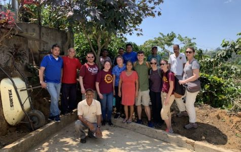 Melissa Bronder led the ABST trip to Haiti this past year where they met with a series of growers in the Salvador Urbina area and learned about the coffee growing process and fair trade.