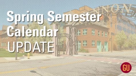 Gannon announces spring semester changes