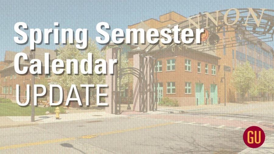 Gannon+announces+spring+semester+changes