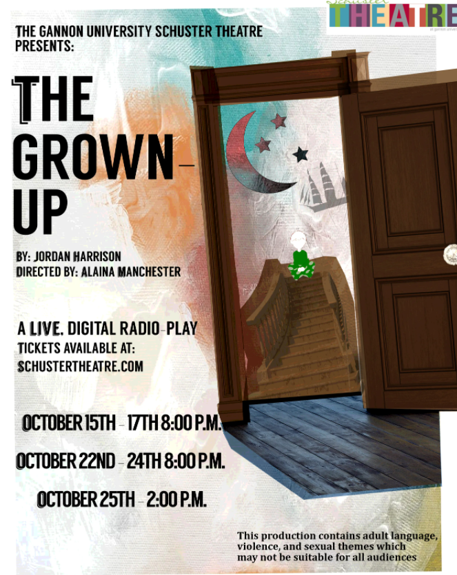 Gannon community logs in to see 'The Grown-Up'