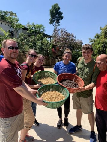 This was the first year for Gannon's Alternative Break Service Trip to visit Fond Tortue, Haiti, where they learned about the economical and environmental impacts of fair trade.