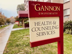 Gannon's Health Center, which oversees the university's COVID-19 testing site and contact tracing, is located in the basement of the Harborview House apartments. Students should call the Health Center at 814-871-7622 with any questions and concerns about the virus or getting tested.