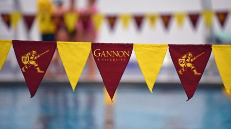 The Gannon University swimming and diving teams have been preparing for their seasons to start. Their first scheduled meet versus Youngstown State was postponed.