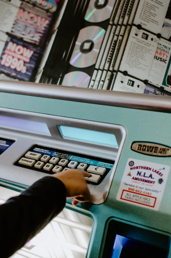 unsplash In the 1980's, the jukebox was revived with the invention of CDs, and updated accordingly.