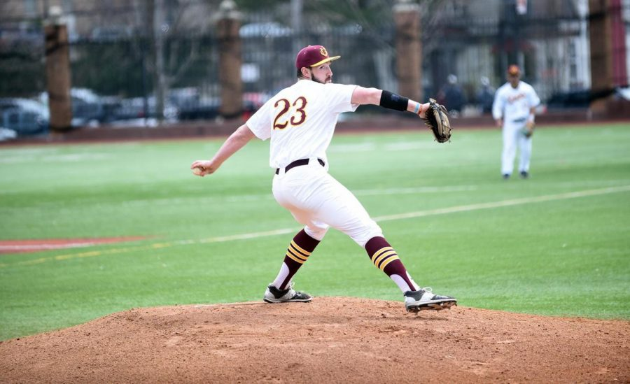Gannon+University+pitcher+Eric+Sapp+had+eight+strikeouts+in+a+7-3+win+over+Slippery+Rock+Monday.%0A