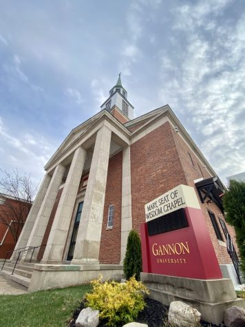 Mary, Seat of Wisdom Chapel will reopen to students April 18.
