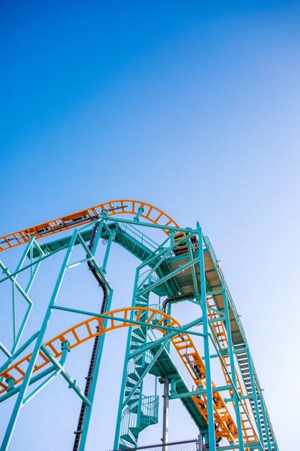 """UNSPLASH/Jason Leung  One of the events parents in """"Yes Day"""" had to say yes to was a trip to a Six Flags Amusement Park."""