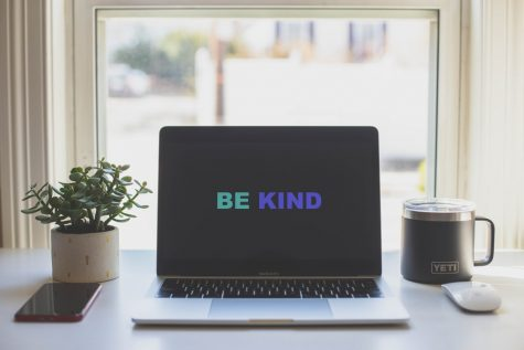 Acts of kindness can be done in small capacities such as getting someone a coffee and talking.