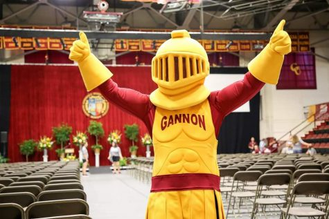Gannon introduces commencement speakers