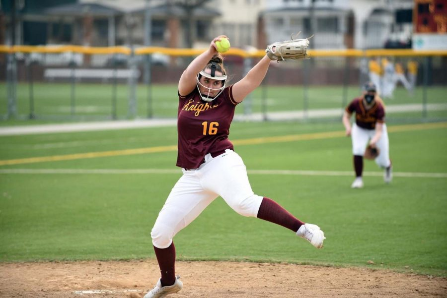 Gannon%E2%80%99s+softball+team+%2817-11%29+split+two+doubleheaders+with+Seton+Hill+Saturday+and+Sunday.