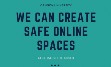 Take Back the Night will occur at 6:30 p.m. Thursday in the Yehl Ballroom via Zoom. The event is important to help normalize conversations and education about sexual assault, which is the first step in eradicating sexual violance.