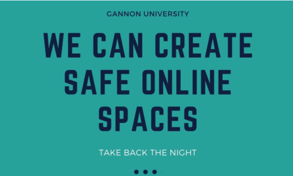 """""""Take Back the Night"""" will occur at 6:30 p.m. Thursday in the Yehl Ballroom via Zoom. The event is important to help normalize conversations and education about sexual assault, which is the first step in eradicating sexual violance."""