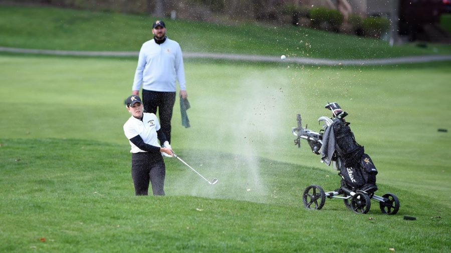 Gannon+University%27s+women%27s+golf+team+came+in+first+place+at+the+Mercyhurst+Spring+Invitational+Monday.