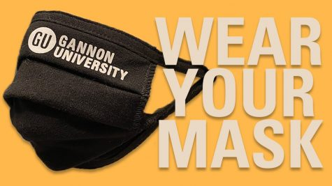 Masks required indoors on Gannon University campuses