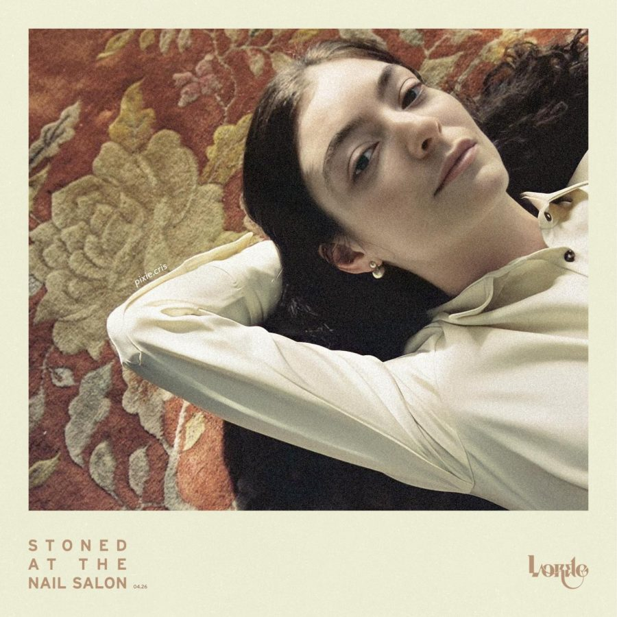 """Lorde releases photos for song """"Stoned at the Nail Salon"""" as featured on the newly released album """"Solar Power."""""""