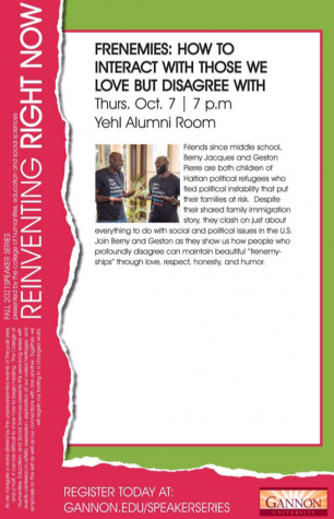 """The next event in the """"Reinventing Right Now"""" speaker series is set to take place at 7 p.m. Thursday."""