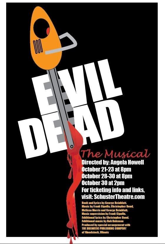 'Evil Dead debuts at the Schuster Thursday